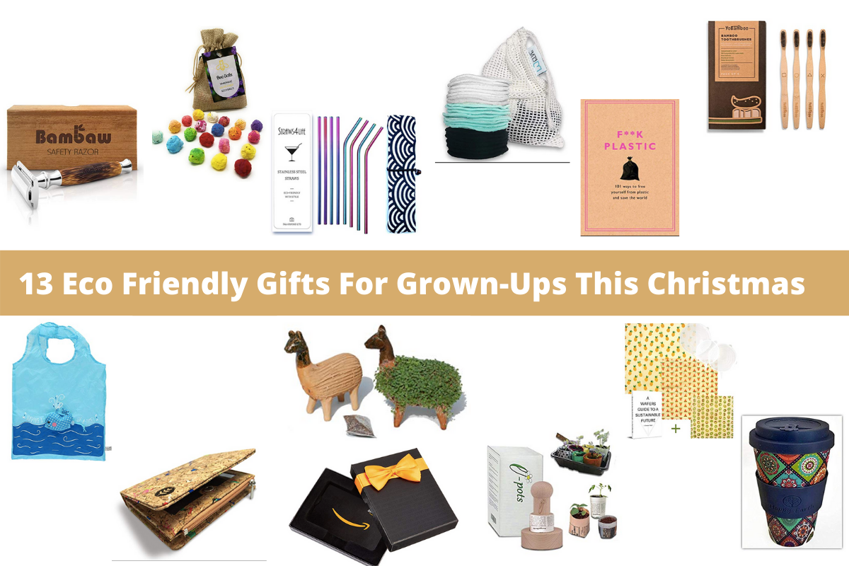 13 Eco Friendly Gifts For Grown-Ups This Christmas