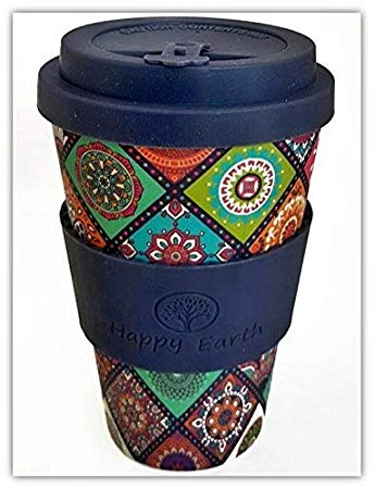 EXOTICA by Happy Earth (Reusable Eco-Friendly Coffee Cup 450ml*