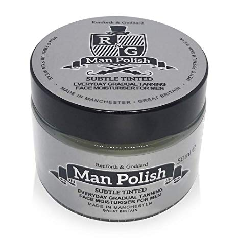 Man Polish Subtle Tinted -Moisturiser for Men 50ml*