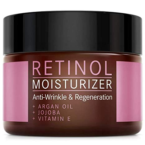 Retinol Cream for Face Care - Retinol Moisturiser with Argan oil*