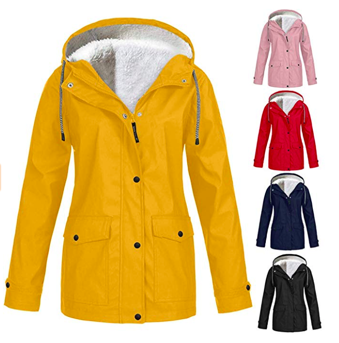 Solid Rain Jacket*