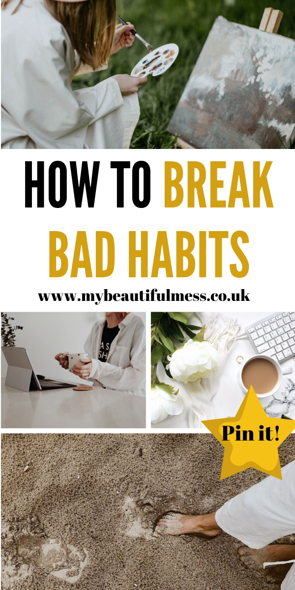 This is how to break bad habits and develop new ones. Find out how TAP works and how it could help you break from a habit of a lifetime by Laura at My Beautiful Mess #BreakAHabit #LearnANewSkill #NewHabit