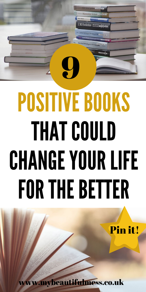 Here are 9 positive books that could help you become more confident, successful and less stressed. Decide to make a change now for a better future by Laura at My Beautiful Mess