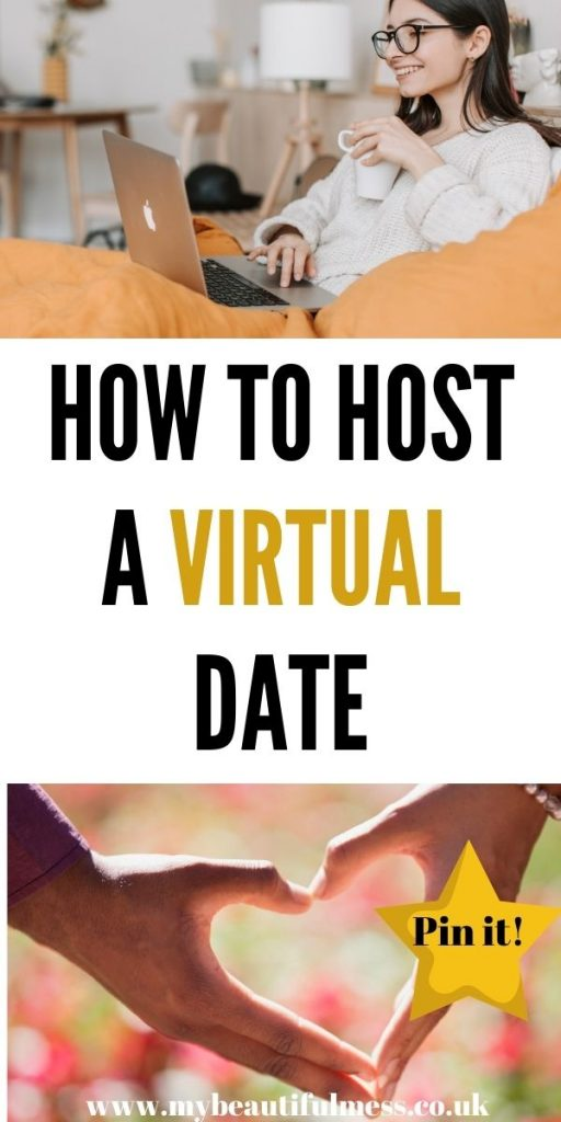This is how to host a virtual date when you are stuck at home, miles away from your date. We've included everything you will need for a fun night in by Laura at My Beautiful Mess