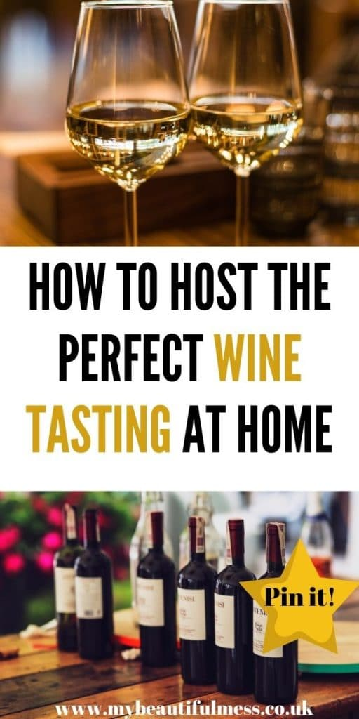 This is how to host the perfect wine tasting at home party. You could do it over Zoom or within your own household. This is a great date night idea too by Laura at My Beautiful Mess