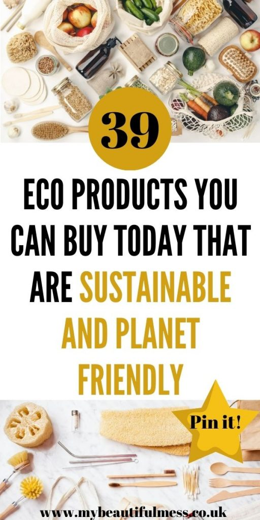 This is the best list of eco products that are made from sustainable materials and are planet friendly. This is how to start using less plastic at home by Laura at My Beautiful Mess