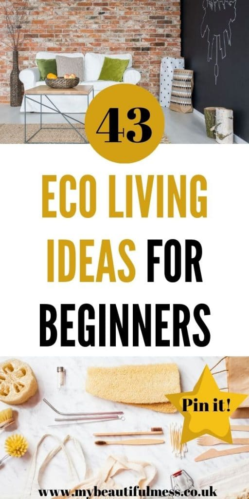 These are the best eco living tips that can help you live a more sustainable way of life. We've included everything you need to start by Laura at My Beautiful Mess
