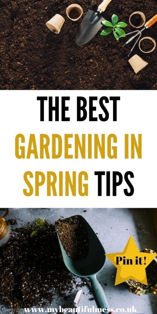 This is your gardening in Spring checklist. Use this to make sure that you garden is ready for summer by preparing it now by Laura at My Beautiful Mess