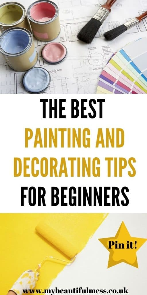 These are the only painting and decorating tips that you'll need! It's easy to make a few small home decor changes that can have a big impact by Laura at My Beautiful Mess