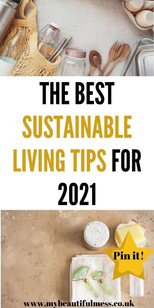 Sustainability living is really easy to do to help reduce climate change. By living more eco friendly, we can help to fight global warming by Laura at My Beautiful Mess