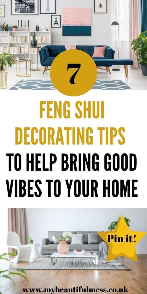 These are the best feng shui decorating tips that can help you to feel good and help you to place all your furniture in the right place to help your chi by Laura at My Beautiful Mess