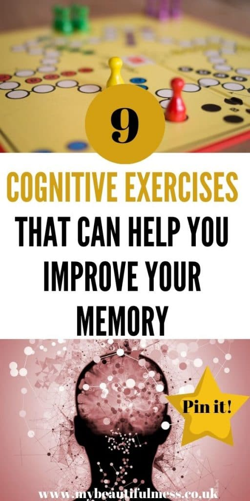 These are the best cognitive exercises that can help you to improve your memory, brain power and development by Laura at My Beautiful Mess