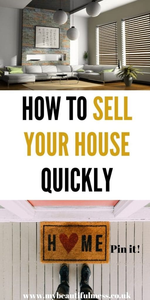 This post is about how to sell your home quickly. We walkthrough tips on how to make your home more sellable by Laura at My Beautiful Mess