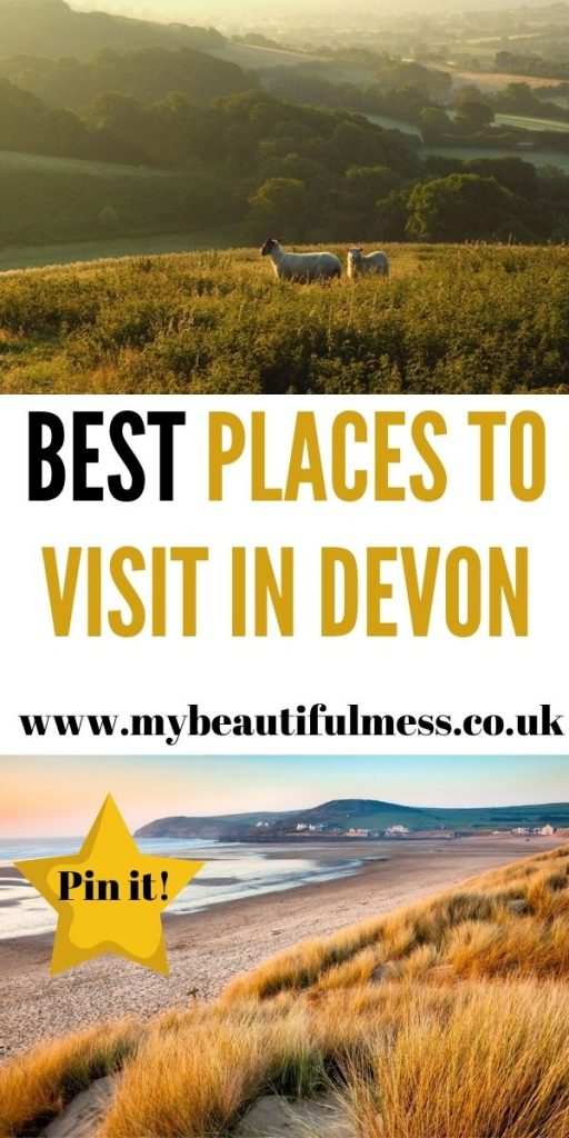 These are the best places to visit in Devon. Exploring the local area and enjoy everything that the UK has to offer this year by Laura at My Beautiful Mess