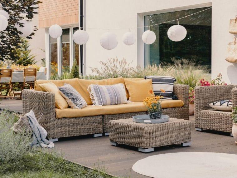 Ratten garden furniture