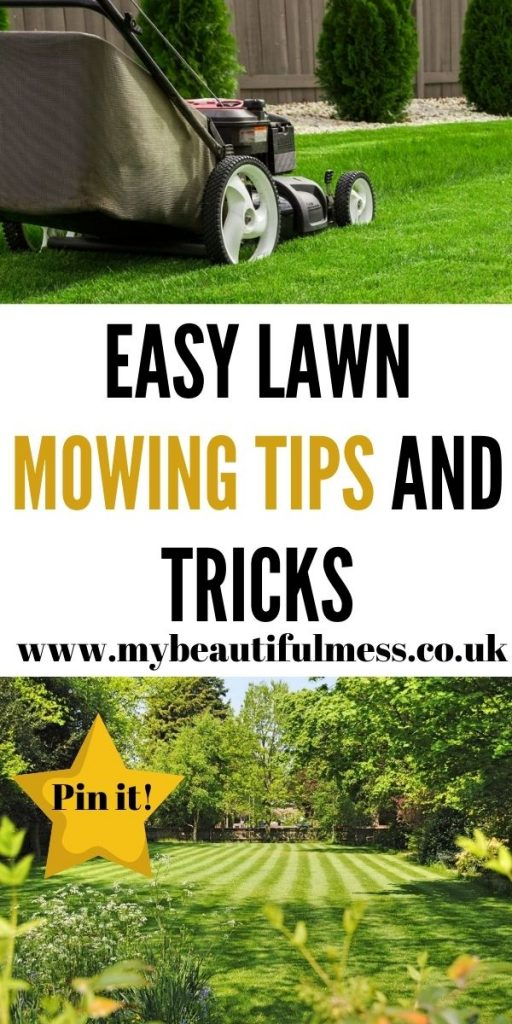 These are the best lawn mowing tips and tricks that can help you to keep your grass green and garden beautiful by Laura at My Beautiful Mess
