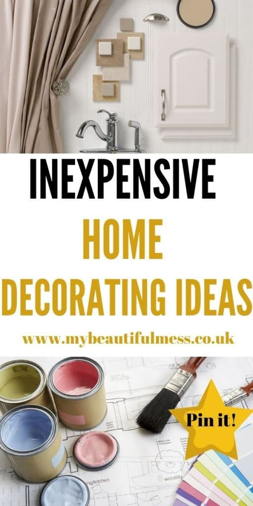 These are the best inexpensive home decorating ideas that you can use to design your home. The simple things really can make a difference by Laura at My Beautiful Mess