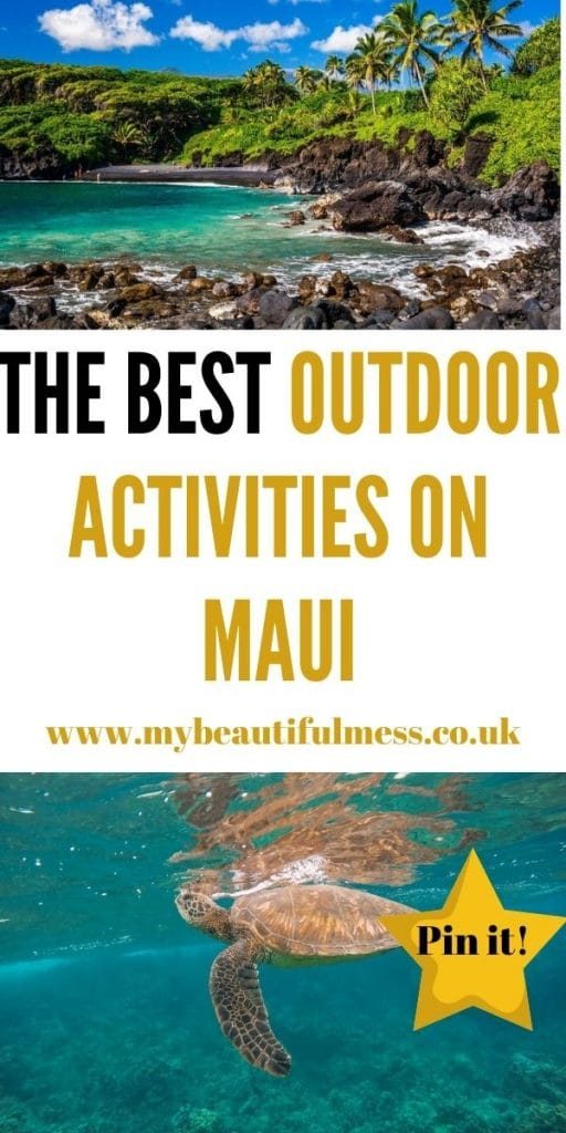 These are the best outdoor activities on Maui for adults. Explore this amazing island i =n so many different ways by Laura at My Beautiful Mess