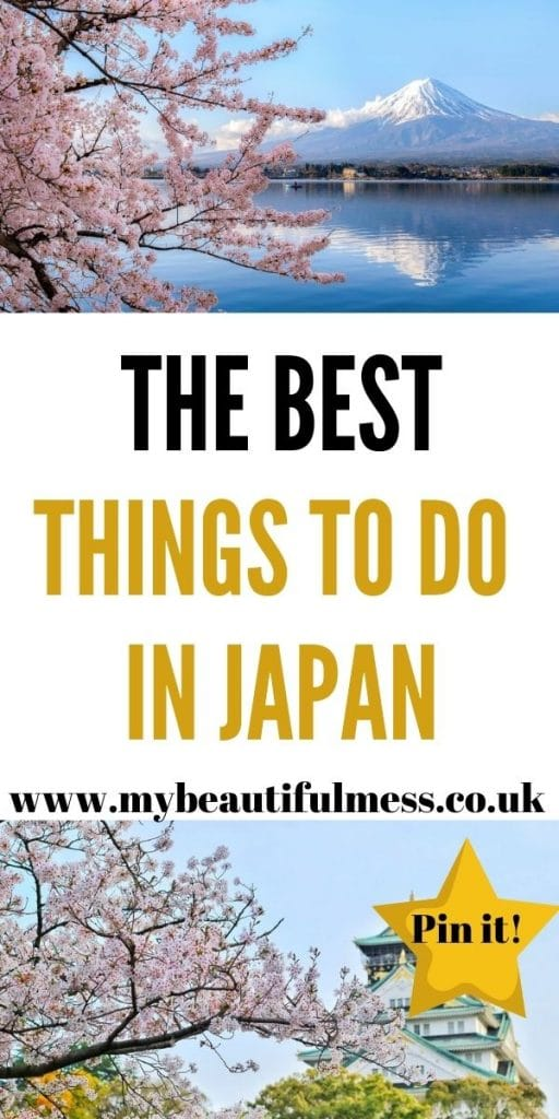 Are you looking for things to do in Japan? We have a full list of the best things to do in Japan for adults by Laura at My Beautiful Mess