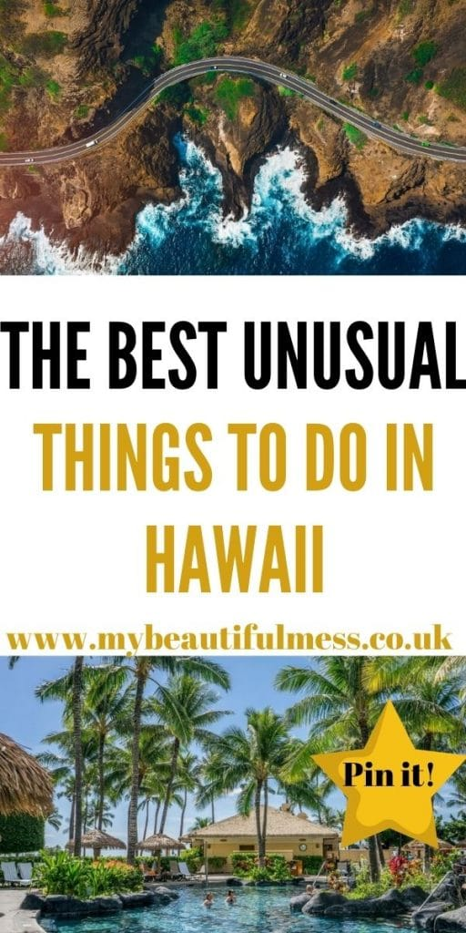 These are the best unusual things to do in Hawaii for adults. We've included places that most tourists haven't been to yet by Laura at My Beautiful Mess