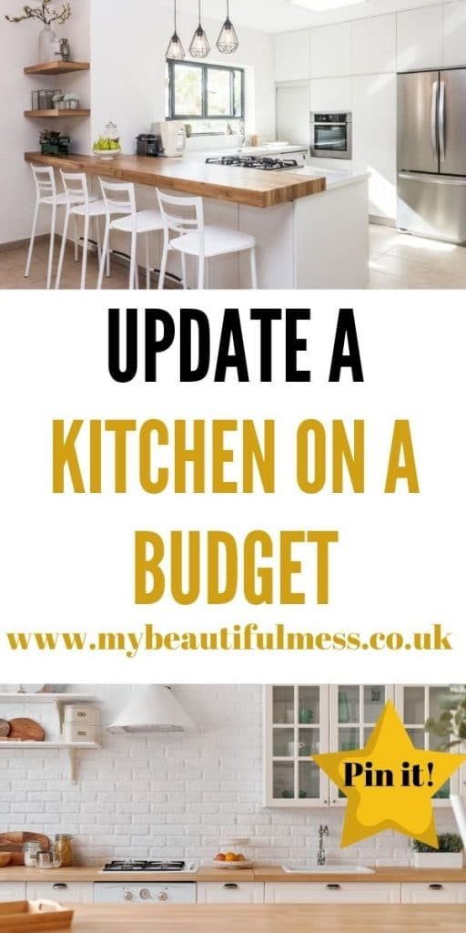 This is the best way to update a kitchen on a budget. We've included easy tips that mean you can improve your kitchen easily by Laura at My Beautiful Mess